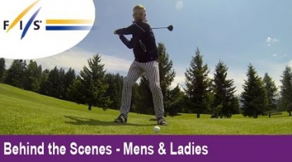 Didier Cuche's new career? Swiss Ski Charity Golf Tournament! – Behind the Scenes – Mens & Womens