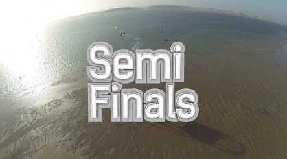 Hadlow vs Jacobs & Neto vs Tack – Semis Finals Singles – Dakhla Morocco – PKRA 2014