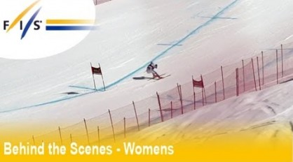 Marion Rolland presents Meribel 2013 – Audi FIS Alpine Ski World Cup Behind the Scenes – Womens