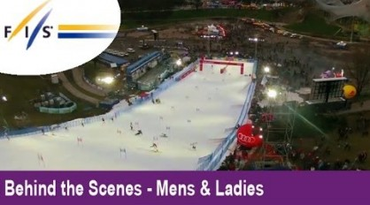 Slalom Skiing in Munich! Audi FIS Ski World Cup 2012 – Behind the Scenes – Mens & Womens
