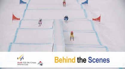 THE FIRST SKI CROSS SPRINT