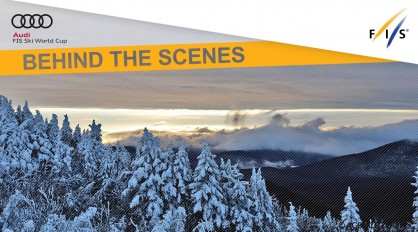 Artificial snowmaking for November races
