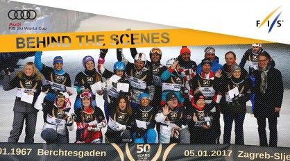 50 years of FIS Ski World Cup celebrated in Zagreb