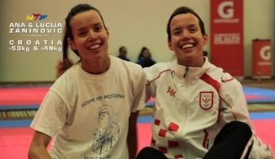 Taekwondo Zaninovic Sisters Profile